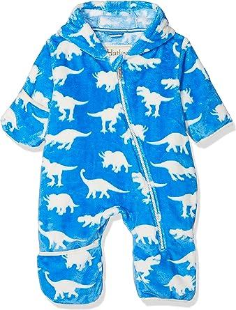 Hatley Baby Boys Fuzzy Fleece Bundler Bodysuit