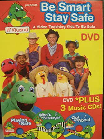 Be Smart Stay Safe: A Video Teaching Kids to Be Safe DVD Plus 3 Music CDs
