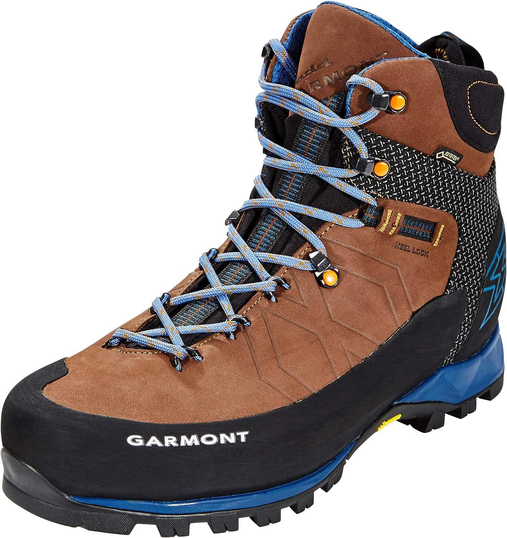 GARMONT Toubkal GTX Shoes Herren Dark BrownBlue 2019 Schuhe