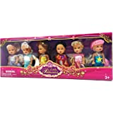 Little Princess Set of 6 Disney Look-A-Like Dolls