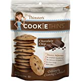Mrs. Thinster's Cookie Thins, Chocolate Chip, Non-GMO, Peanut Free, 16 Ounce Bag
