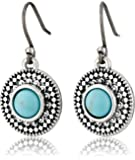 Lucky Brand Turquoise-Hued Drop Earrings