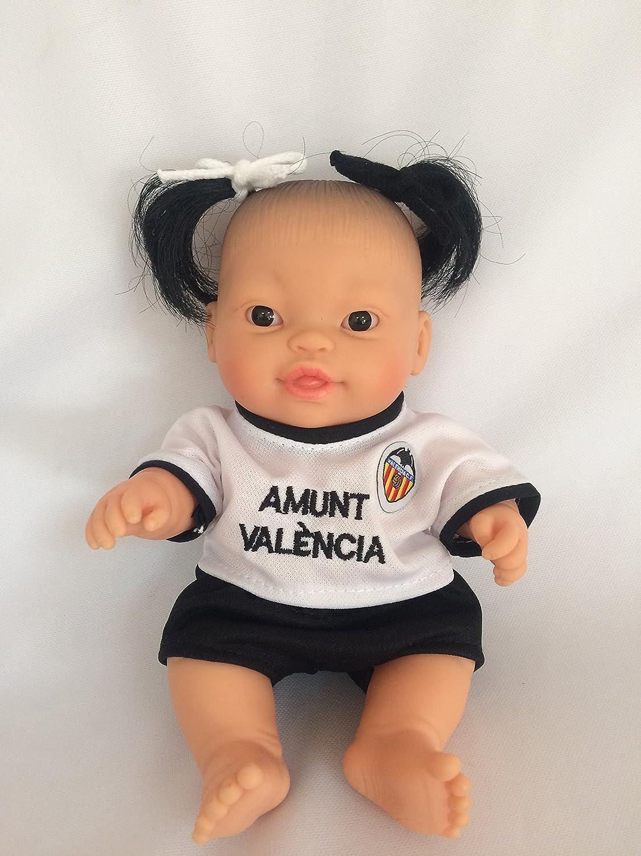 Multi-Colour 31007 Paola Reina Peque Europea Recien Born in Bag Doll Paola Reina PAOLJ 21 cm