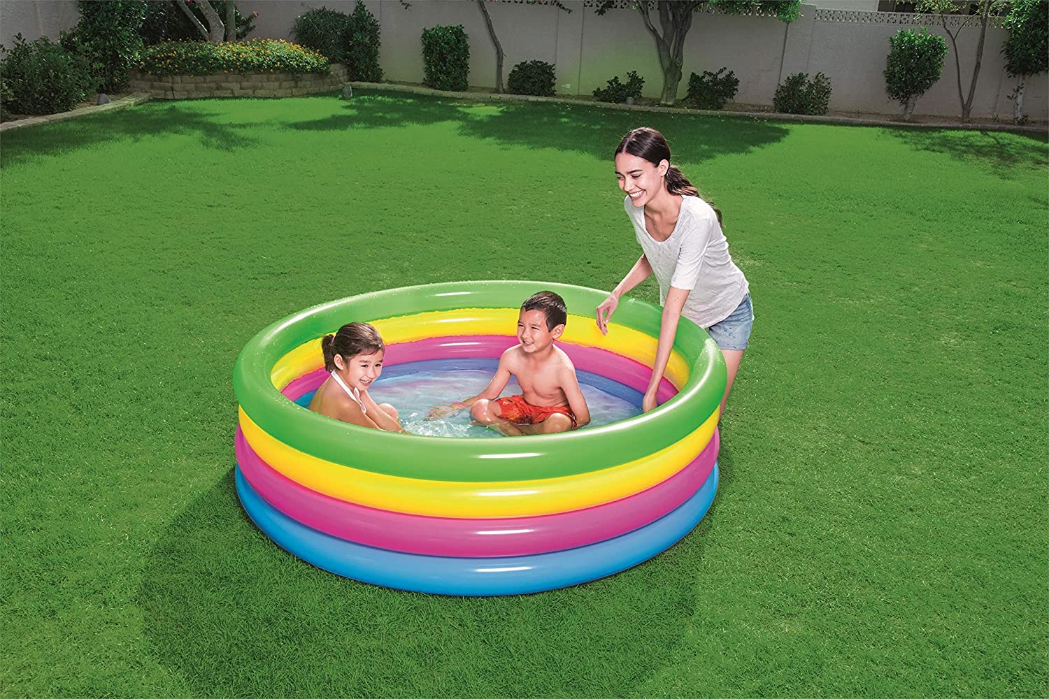 Piscina Hinchable Infantil Bestway Play: Amazon.es: Jardín