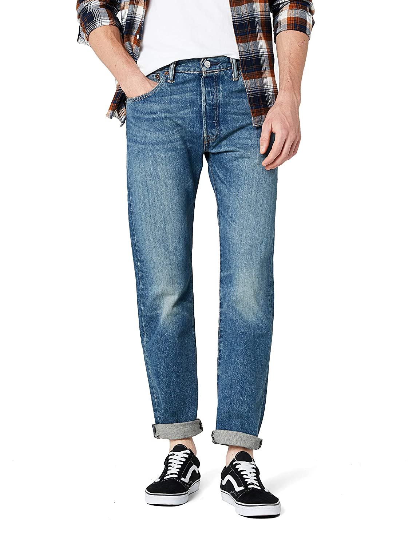 Levi's 501 Original Fit Jeans, Pantalón vaquero con diseño clásico y cómodos de usar, Hombre