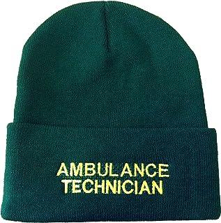 per primo soccorso e Medics St Johns Ambulance-Berretto invernale lavorato a maglia tecnica in lana