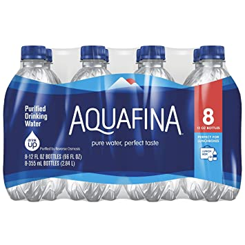Case Of Water Aquafina