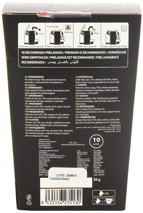 Cuida Té - Capsulas de Té Verde - 10 cápsulas: Amazon.es: Alimentación y bebidas