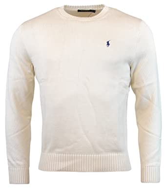 All White Polo Sweater