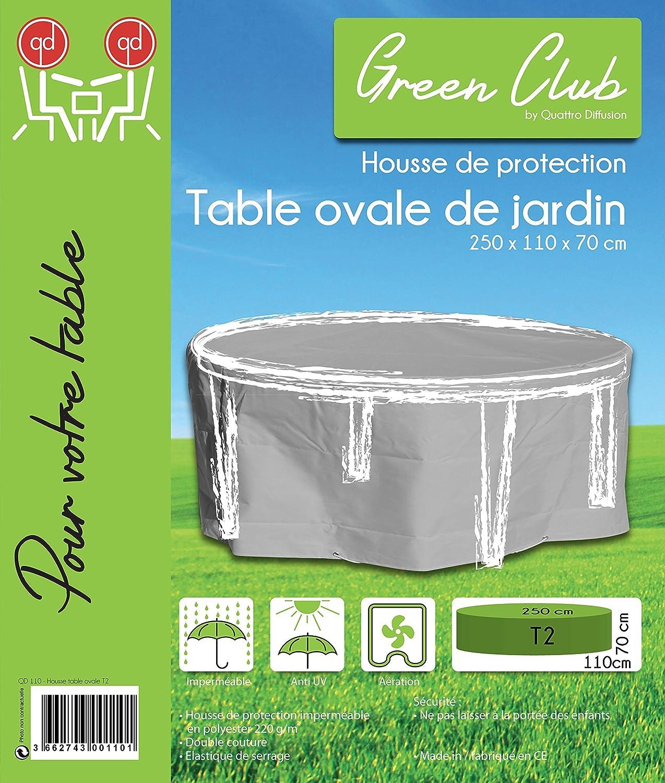 protection de de Table Jardin qualité Haute Housse ovale sQdrth
