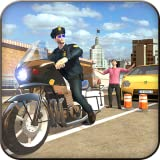 quad games for free - Extreme Traffic Police Bike 3D