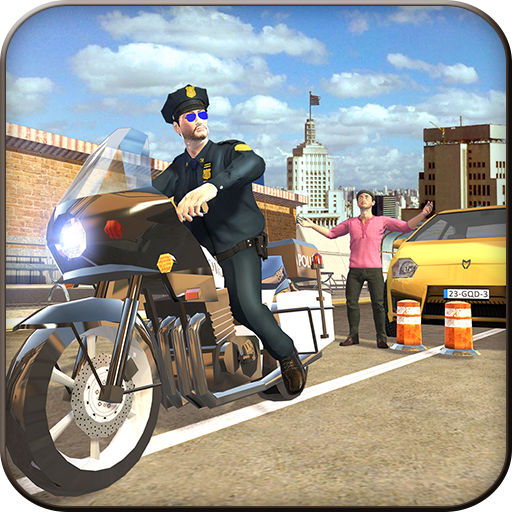 Motorbike Gangster Escape Revenge Adventure Simulator: Extreme Traffic Police Bike Cops Vs Robbers Chase Mission 3D Game Free For (Motorbike Race)