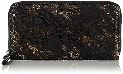 Tamaris Damen Debra Big Zip Around Wallet Geldbörse, Gold (Bronce), 2x10x19.5 cm