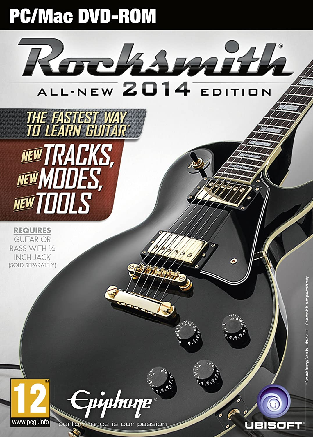 Rocksmith 2014 Edition - Includes Real Tone Cable [Importación ...