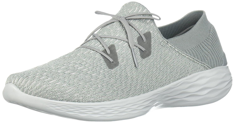 Skechers Women's You-14963 Sneaker B071X5R4RQ 6.5 B(M) US|Gray
