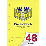 Spirax 124 A4 Binder Book with 14MM Dotted Thirds (48 Pages)