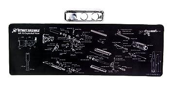 Ultimate Rifle Build Gun Cleaning Mat