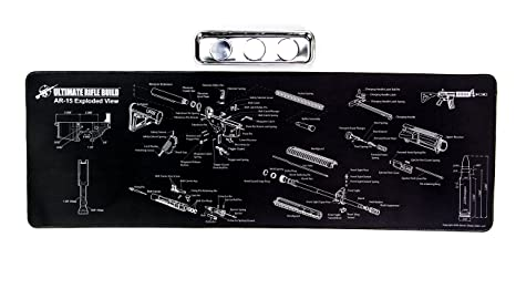 Amazon Ultimate Rifle Build Large Ar15 Gun Cleaning Mat With