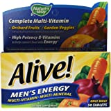 Nature's Way, Alive! Men's Energy Multivitamin & Multimineral, x50tabs