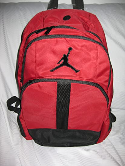 a01c3ef075c0 Amazon.com  Nike Air Jordan Jumpman23 Overlay Backpack - Red Black ...