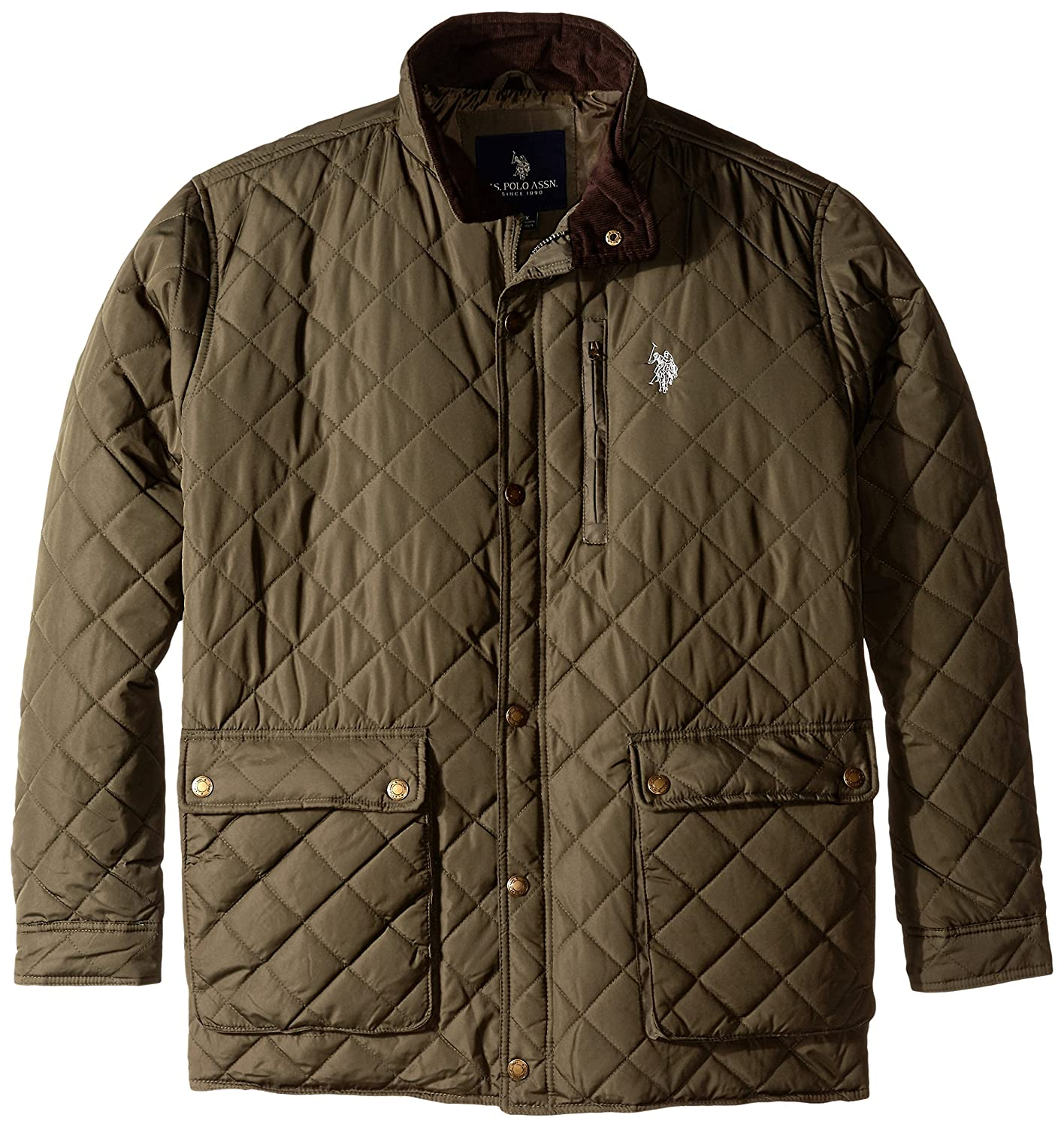U.S. Polo Assn. OUTERWEAR メンズ B0106USLZO 2X|Forest Night-ggfh Forest Night-ggfh 2X