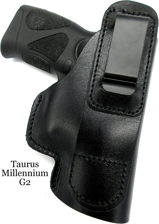 TAGUA BROWN LEATHER RH IWB INSIDE CONCEALMENT HOLSTER for TAURUS MILLENNIUM G2