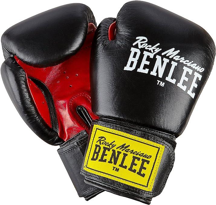 Ben Lee Fighter Guantes de Boxeo, Unisex Adulto, Negro, 8 oz: Amazon.es: Deportes y aire libre