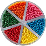 Wilton Jimmies Rainbow Sprinkle Assortment, 3.2 oz. - Cake Decorating Supplies