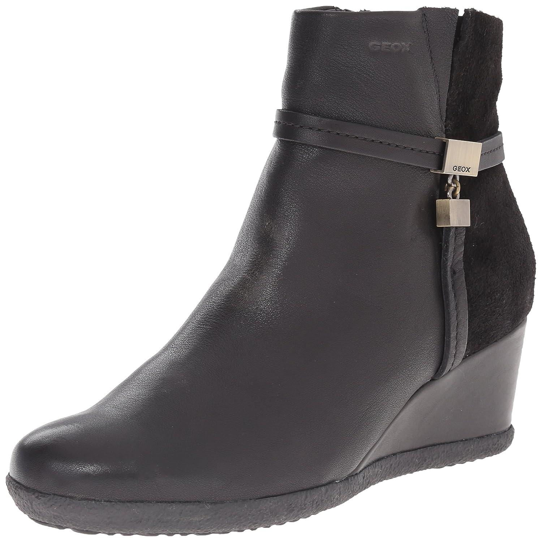 84ed76a6 Geox D Amelia Stivali B, Women's Ankle Boots, Black (Blackc9999), 2.5 UK  (35 EU): Amazon.co.uk: Shoes & Bags