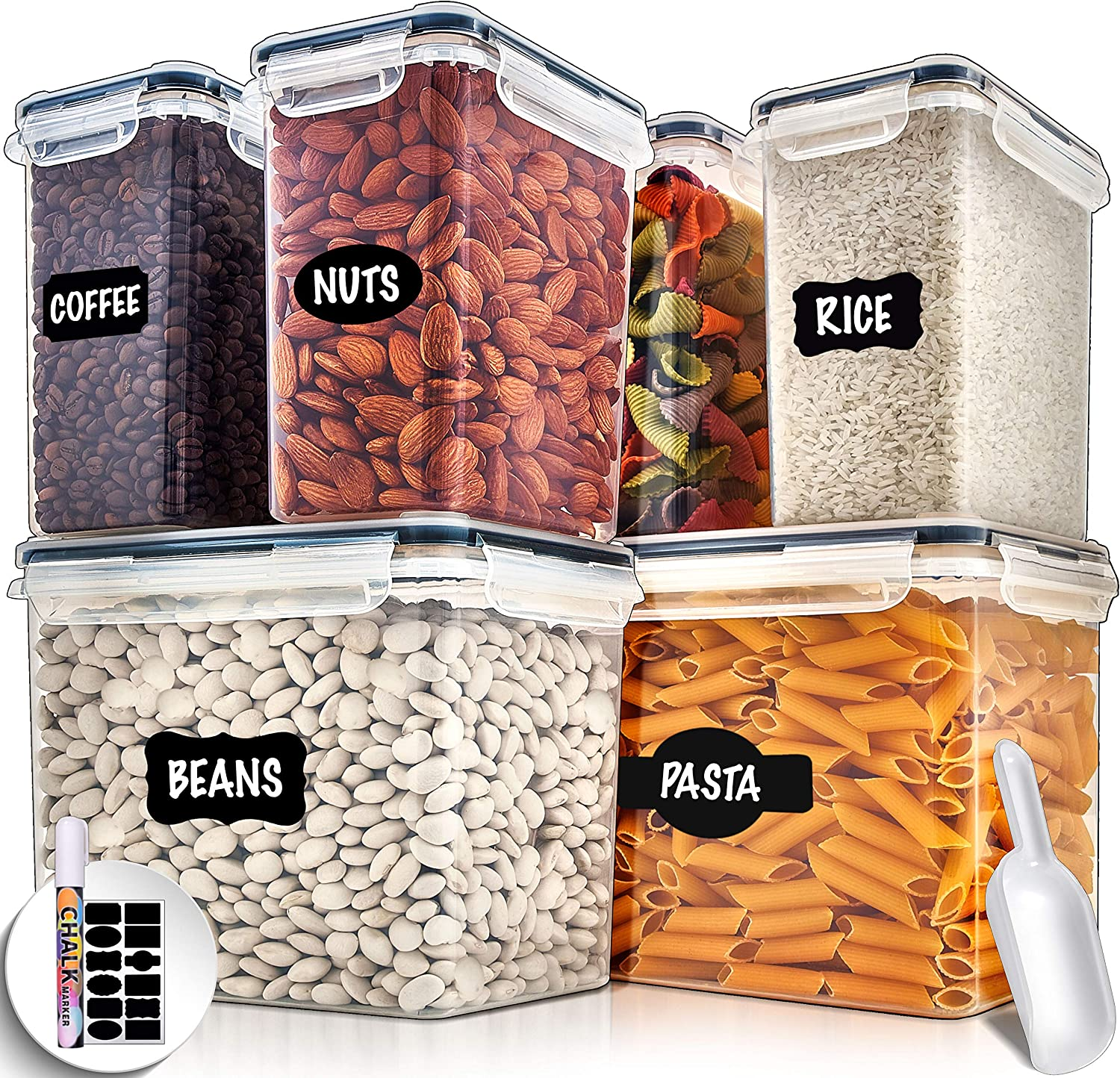 Best Large Airtight Food Storage Containers
