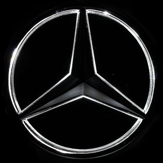 Amazon Jetstyle Led Emblem For Mercedes Benz 2011 2018 Black