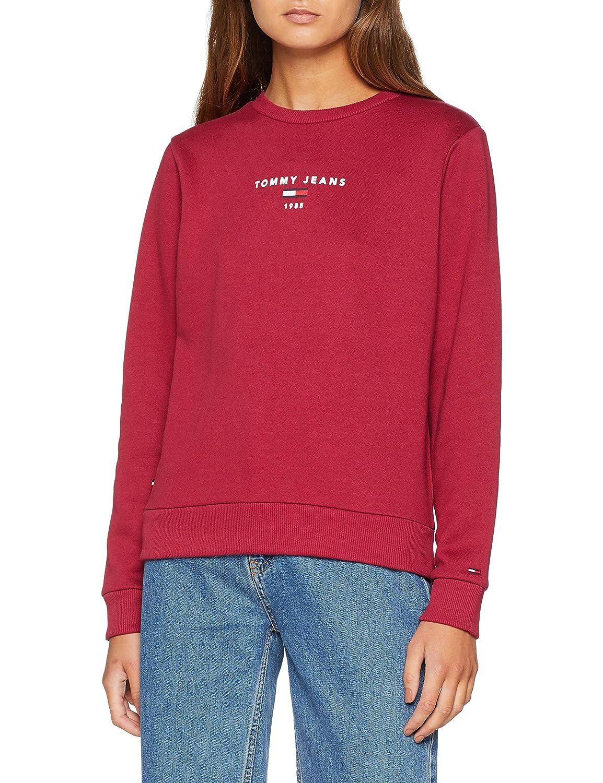TALLA L. Tommy Jeans Clean Logo W Sudadera