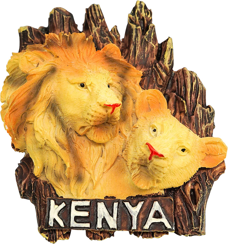 Kenya zamonji 3D Resina Giocattolo Frigorifero Magnete Africa Souvenir del Turismo Mondiale Zebra