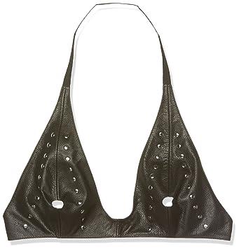 Erótica sujetador ra7157 moda, de cuero negro Un tamaño, 1 paquete (1 x 1 pieza): Amazon.es: Salud y cuidado personal