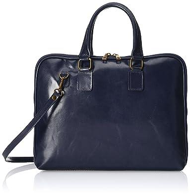 Chicca borse Sacs à Main Femme, (Blu Scuro), 38 cm