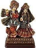 SUNNY CORPS™ Radha Krishna Gift Statue Idol Showpiece Sculpture Murti LxHxW(cm) = 10.5x16x7
