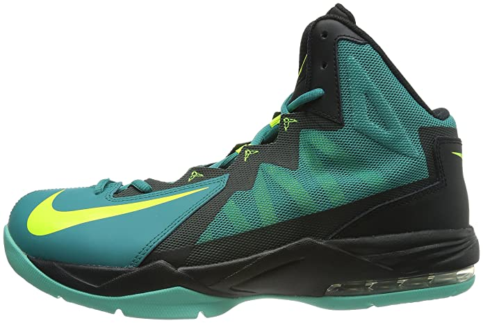 75ae82005bac Men s Air Max Stutter Step 2 Basketball Shoes Catalina Black Bleached  Turquoise Volt 11.5 D(M) US  Buy Online at Low Prices in India - Amazon.in