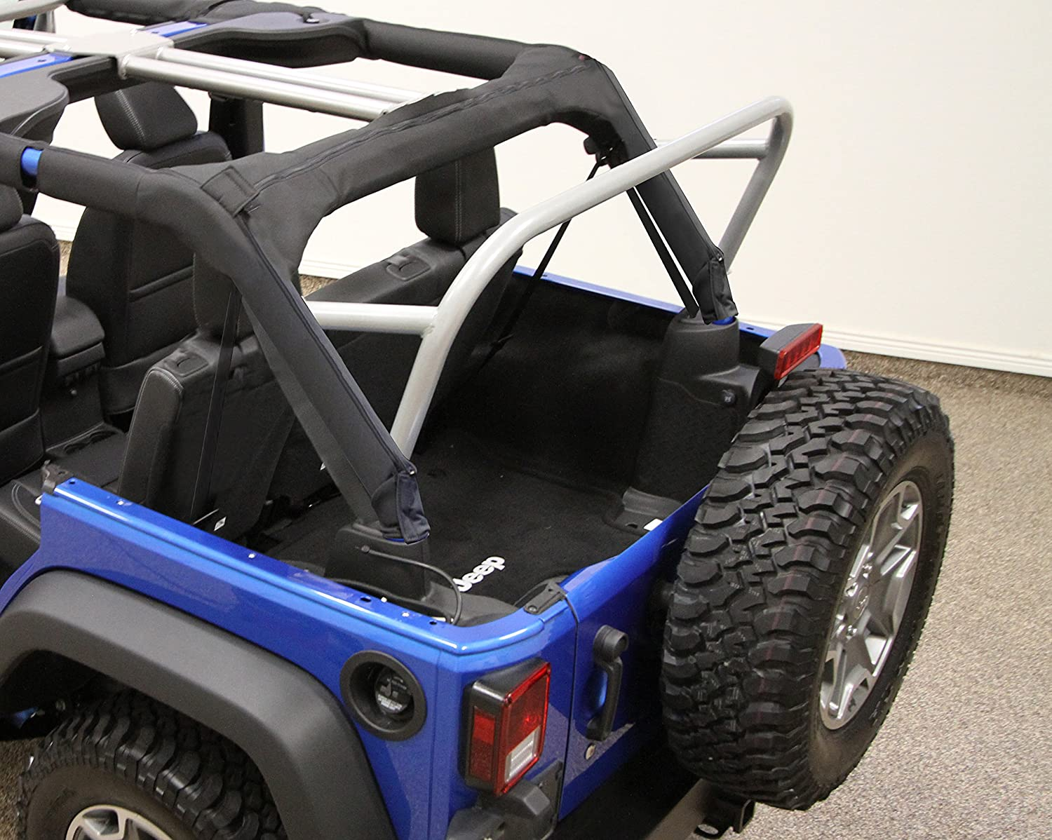 Jeep 3Rd Row >> Rock Hard 4x4 3rd Row Accessory Mount Sport Cage For Jeep Wrangler Jk 4dr 2007 2017