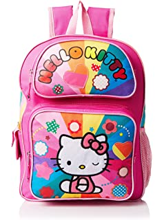 81ace6026 Amazon.com: Hello Kitty Rainbow Stars lunchbox Pink Lunch Kit with ...
