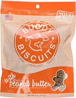 product image for Cloud Star Soft & Chewy Buddy Biscuits Peanut Butter Flavor Dog Treats, 6 Ounce