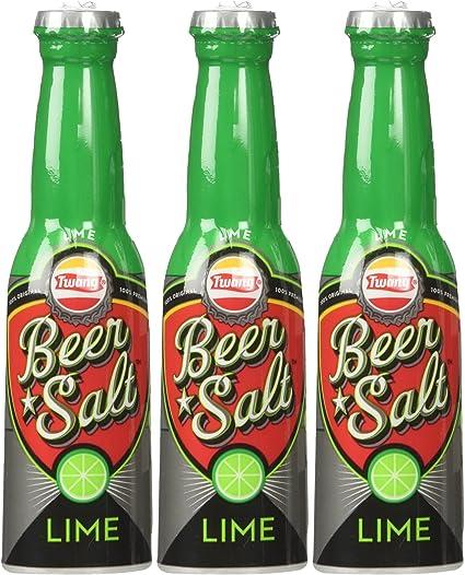 Twang Lime Flavored Beer Salt 1.4oz Bottles 3-pack: Amazon.es: Oficina y papelería
