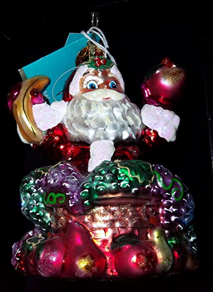 christopher radko christmas ornament snack a peel