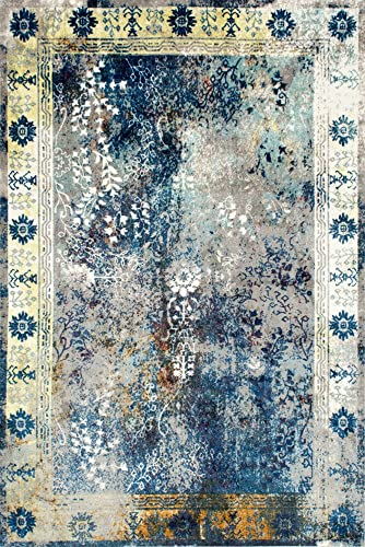 nuLOOM Dotty Vintage Area Rug, 8 x 10 , Blue