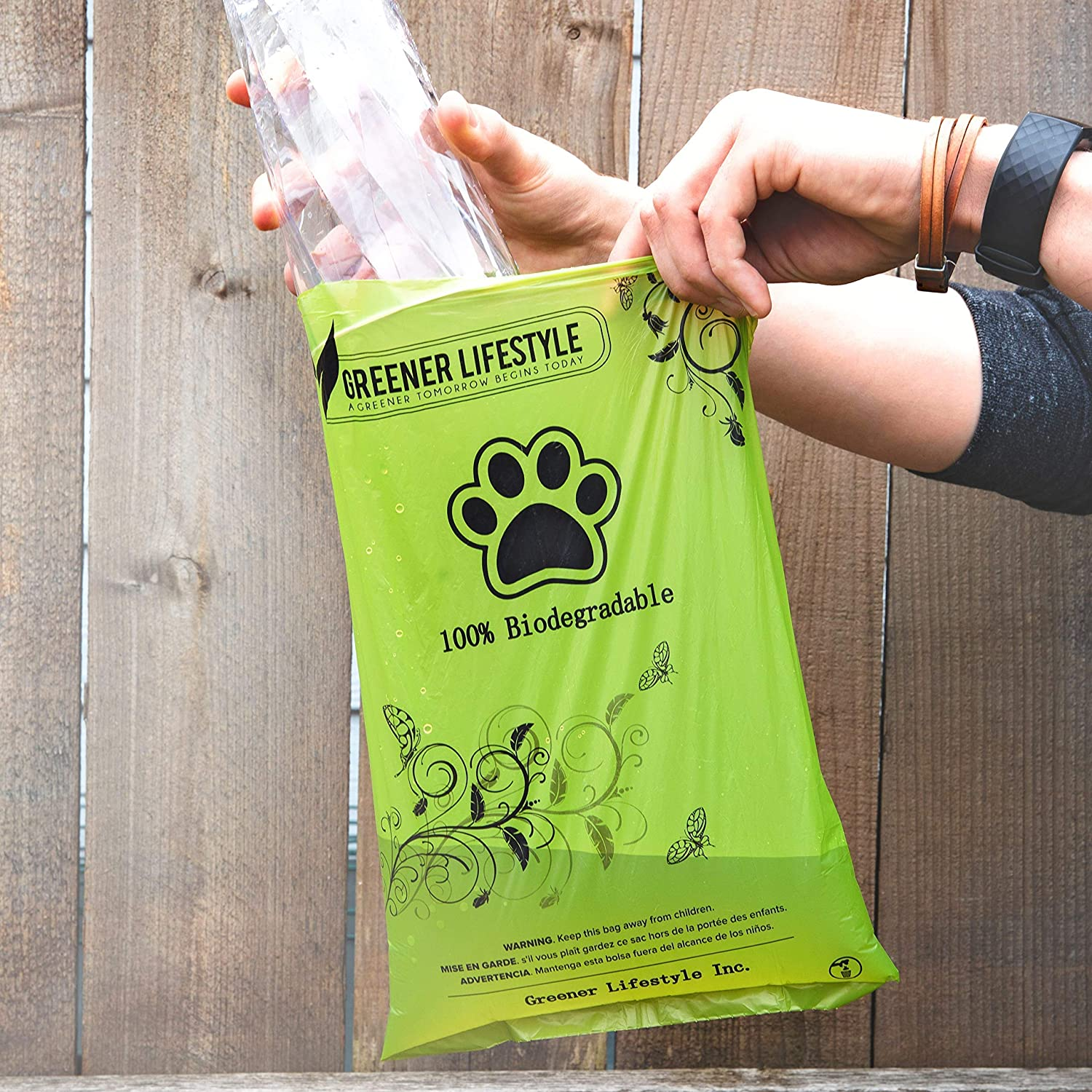 Amazon.com: Greener Lifestyle Dog Waste Bags + 1 Dispenser ...