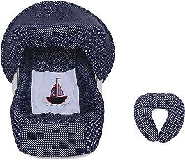 Funda para Sillita Bebé Caramelo Barco Azul Marino