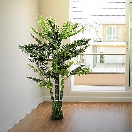 Piante Artificiali Da Appartamento.Palma Artificiale 170cm Alta Verde Piante Finte Da Interno Ed