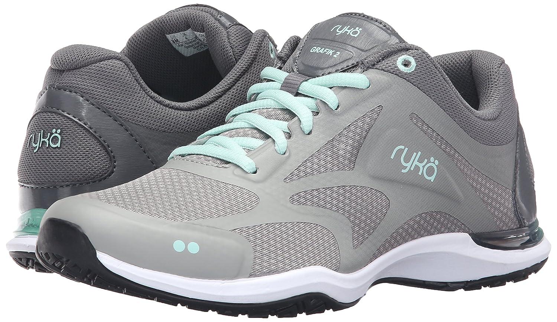 Ryka Shoe Women's Grafik 2 Cross-Trainer Shoe Ryka B01A6200JM 11 B(M) US|Grey/Mint 202d0a
