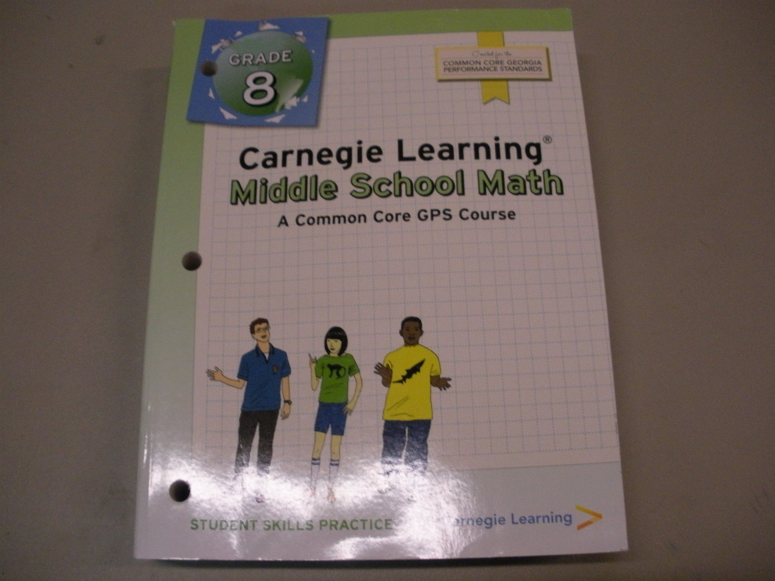 Amazon.com: Carnegie Learning Middle School Math A Common Core ...