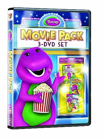 Amazoncom Barney Movie Pack Triple Feature Barney Jungle Friends