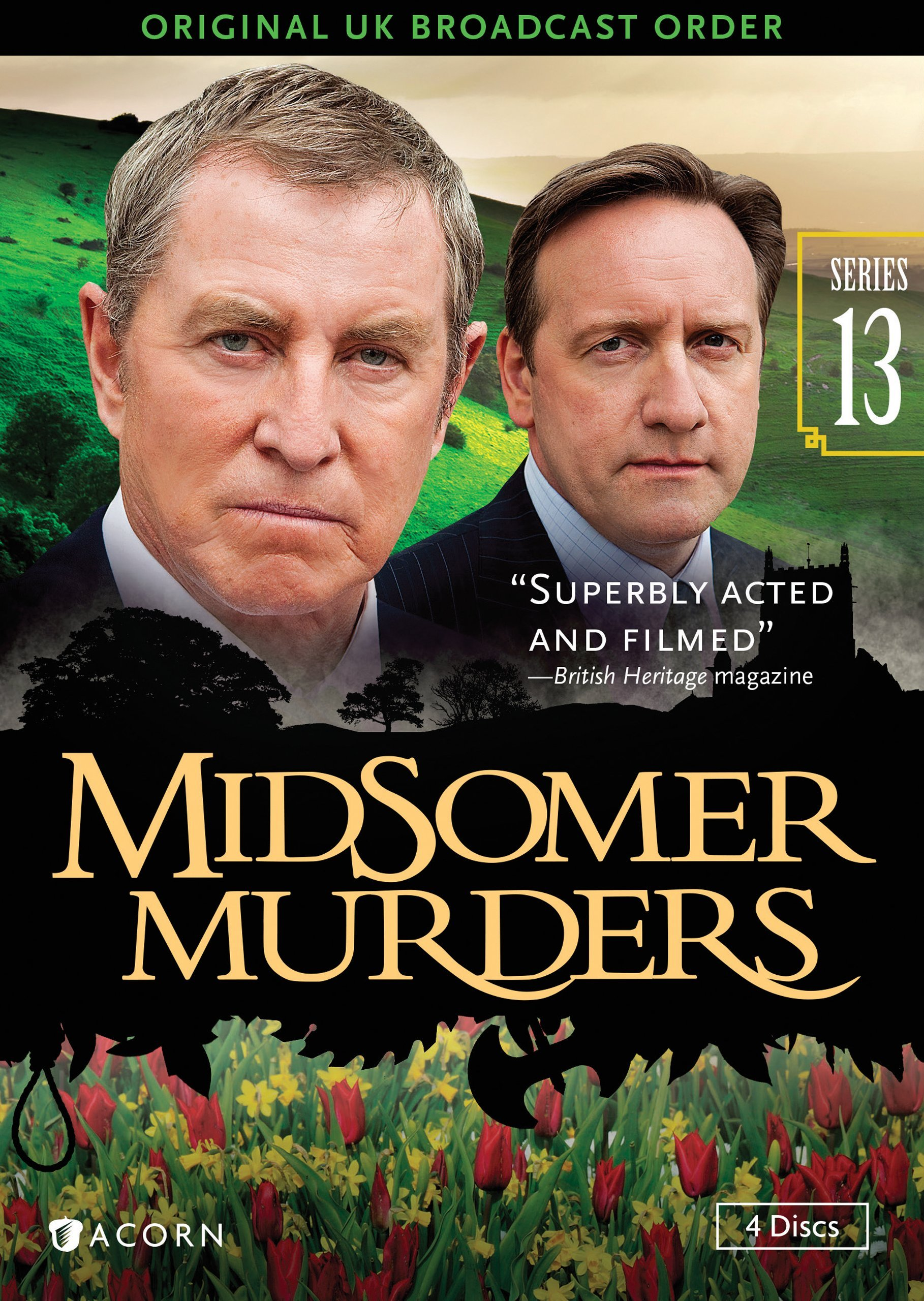 DVD : Midsomer Murders, Series 13 (DVD)